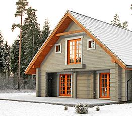 Строительство домов из лафета в Северодвинске